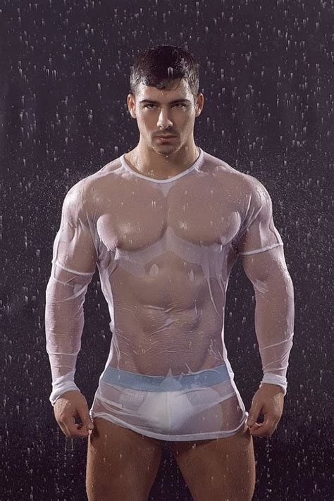 Hot In The Rain Kirill Dowidoff Roman Dawidoff Wet Guys And Sexy Underwear Fashion Of Men