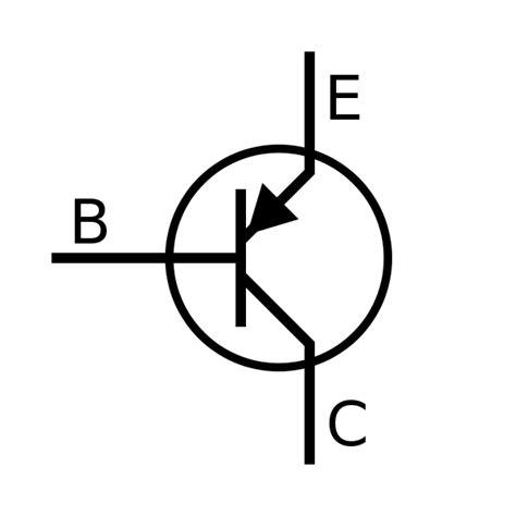 transistor pnp symbol file bjt pnp symbol svg wikimedia commons