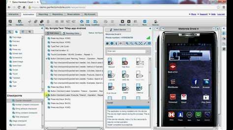 mobile tester mobile test automation demo perfecto mobile sogeti tmap