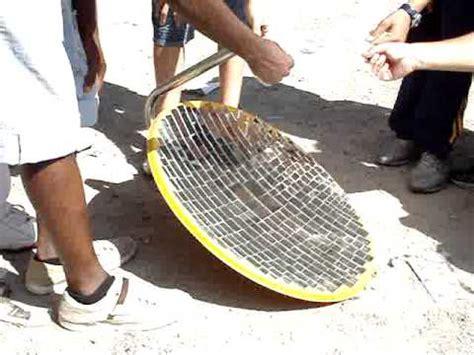 Antena Farabola horno solar con antena parabolica