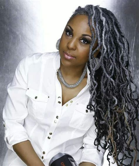 how to get gorgeous salt and pepper hair beautiful salt and pepper locs dreadstop dreadstop