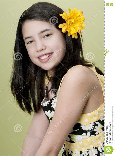 cute preteen cute preteen girl stock image image 18757861