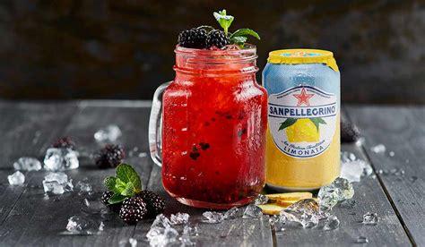 santa sipper punch non alcoholic sanpellegrino sparkling fruit beverages