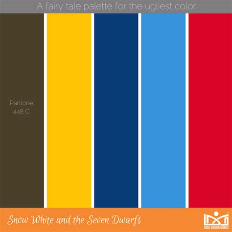 ugliest color combinations fairytale inspired palettes that perfectly match the