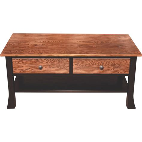 crafted tables bell bottom collection coffee table amish crafted furniture