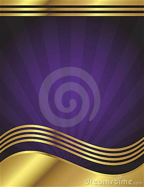 elegant purple  gold background stock  image