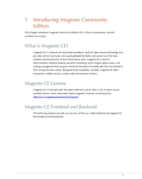 New Magento Community Edition User Guide Overview