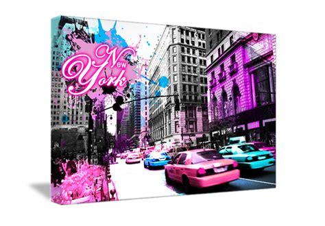 tableau pink de new york monpopart