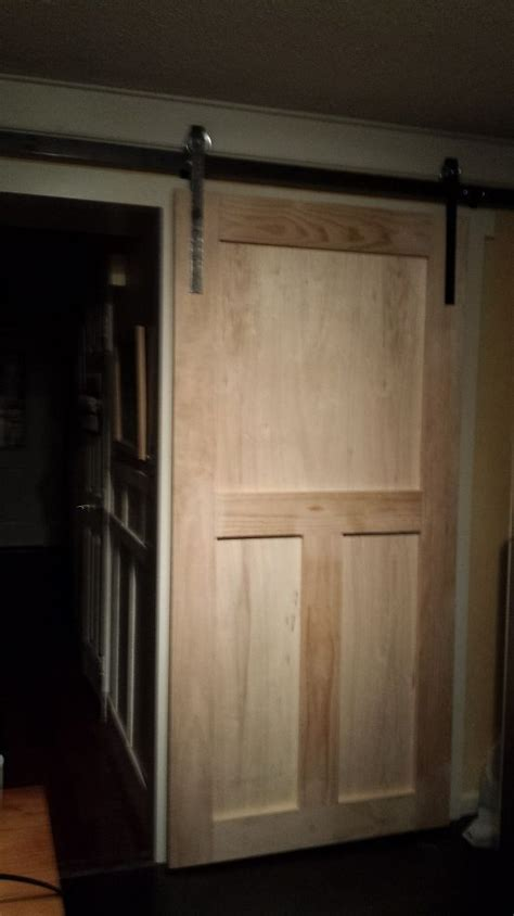 How To Build A Pantry Barn Door Pantry For Less And Doors Barn Door For Pantry