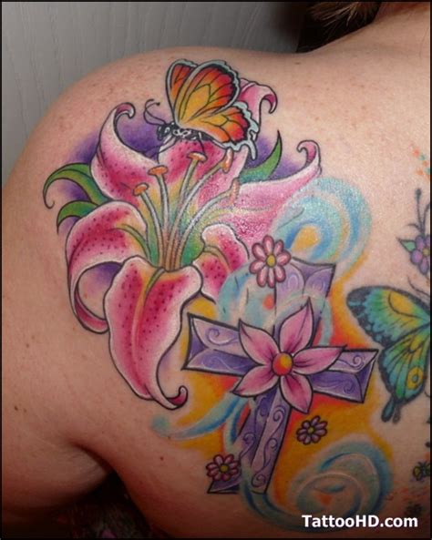 tiger cross tattoo 80 best images about awsome wierd s on