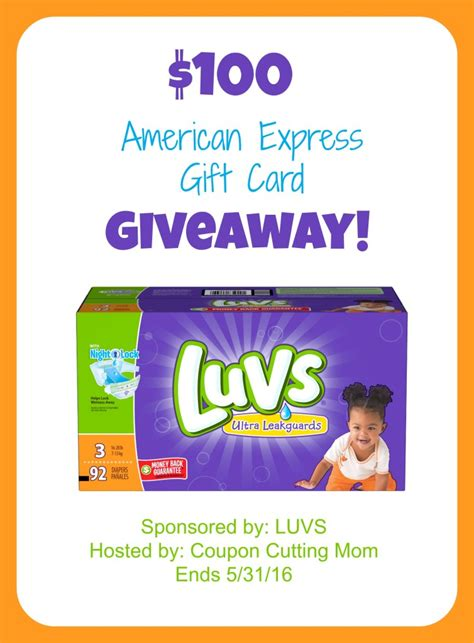 Amex Giveaway - 100 american express gift card caroleandellie com