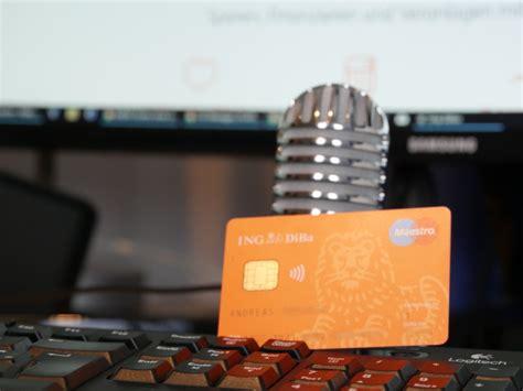 wann bucht ing diba ing diba pr 228 zisiert die kreditkartenvergabe auch erst ab