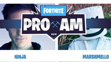 fortnite celebrity tournament list e3 this year will feature a fortnite pro am celebrity