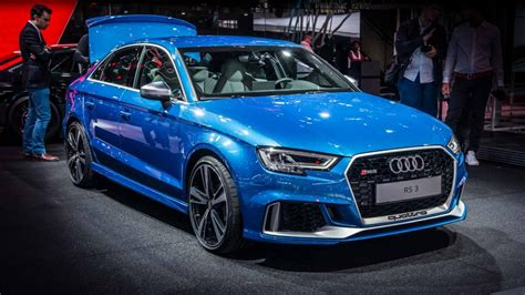 Audi has built a 400bhp RS3 saloon, and it is fast Top Gear