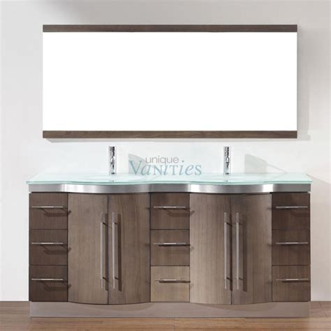 72 Inch Double Sink Bathroom Vanity with Choice of Top in
