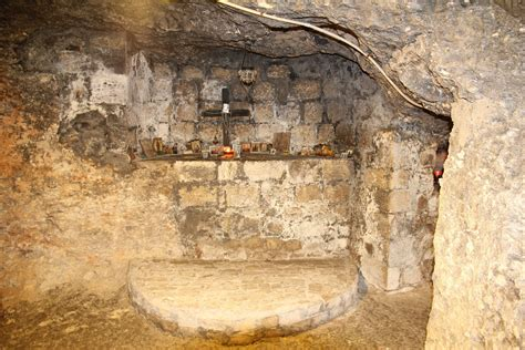 holy caves of nazareth discover nazareth 360