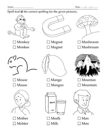 colors that start with m spelling test letter start with m printable coloring worksheet