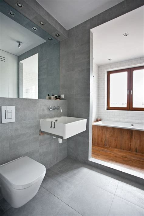 grey tiled bathroom bathroom pinterest recessed shelves tiled bathrooms and full length