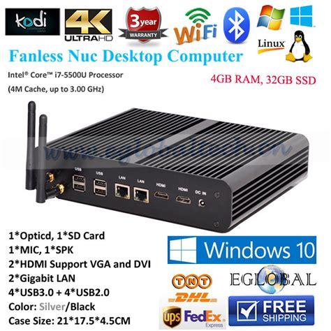 Industrial Mini Pc X86 Intel I3 Ram 4gb Ssd 32gb Wifi H Murah achetez en gros intel i7 serveur en ligne 224 des grossistes