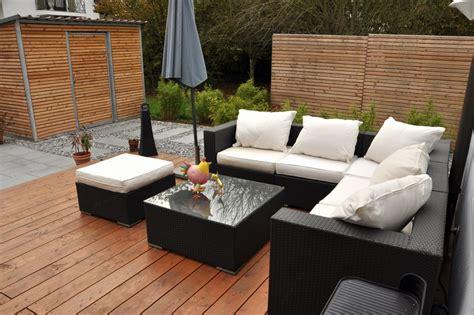 terrassen sitzecke gartenart reichenberger holz terrassen und sichtschutz