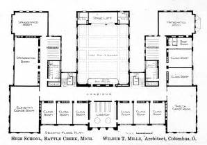 high school floor plans floor plan knowlton school digital library