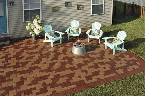 How To Build A Beautiful Space With Composite Patio Pavers How To Make A Patio With Pavers