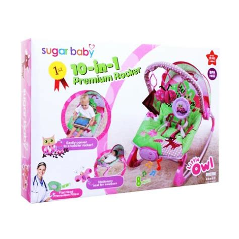 Bouncer 10in1 jual weekend deal sugar baby 10in1 premium rocker