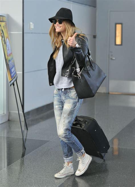 Nina Agdal Arrives At Jfk Airport In New York Hawtcelebs