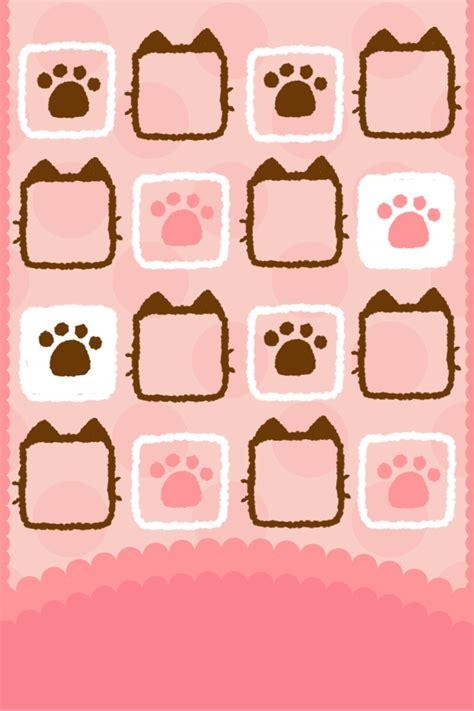 kawaii wallpaper iphone hd cats paws iphone wallpaper iphonewallpaper iphone4