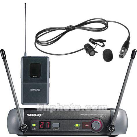 Wireless Microphone Shure Bisa Ubah Frequensi shure pgx series wireless microphone system pgx14 85 l5 b h