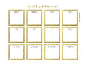 birthday calendar template printable search results for birthday calendar template printable