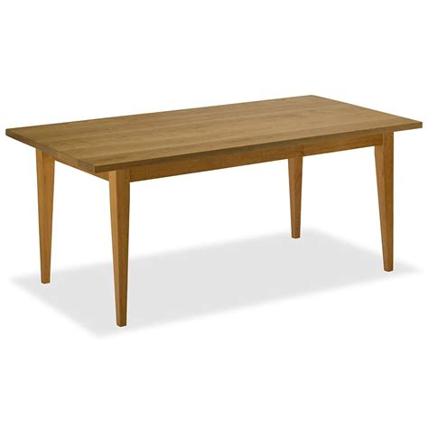 shaker dining table buy a handmade cherry tapered shaker dining table made to order from vermont farm table