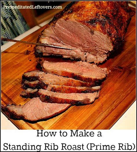 how to make a standing rib roast prime rib