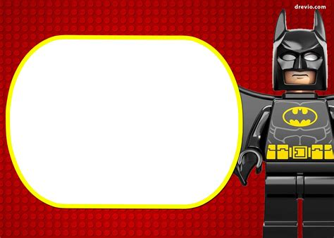Batman Birthday Card Template by Free Lego Birthday Invitations Bagvania Free Printable