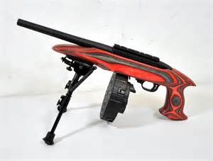 Ruger 22 charger pistol red laminate 22 lr 10 quot pre owned mmp guns