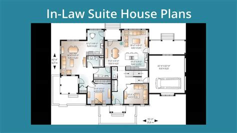 Inlaw Suites by Small House Plans With Mother In Law Suite Small House