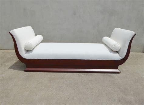 bed backrest design art deco inspired day bed with backrest timeless