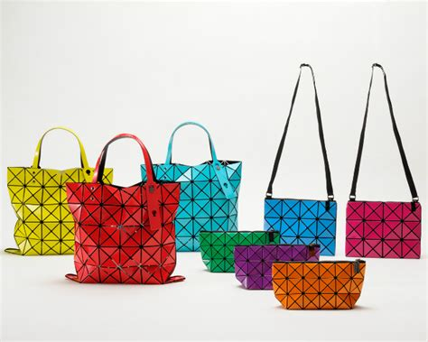Bao Bao By The Way With Mini Pouch bao bao bags from issey miyake come in all shapes sizes colours world