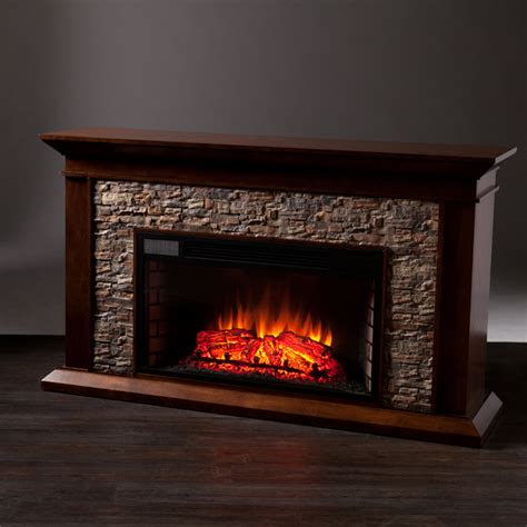 60 In Electric Fireplace by 60 Quot Heights Simulated Electric Fireplace Fe9023