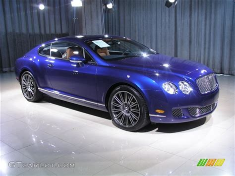 bentley blue color 2008 moroccan blue bentley continental gt speed 221940
