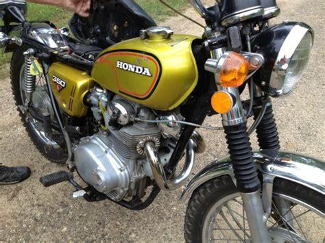 1972 honda cl350 scrambler for sale 1972 honda cl350 for sale on 2040 motos