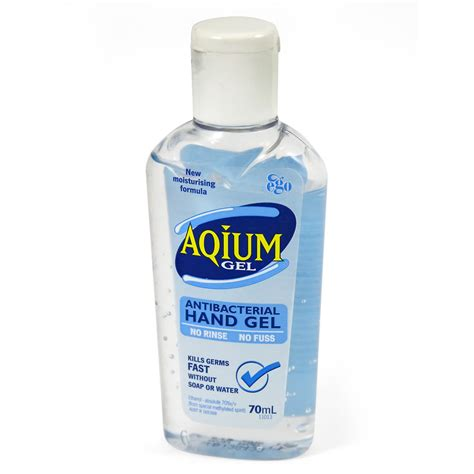 Supplier Gel aqium antibacterial gel 70ml aid kits supplies