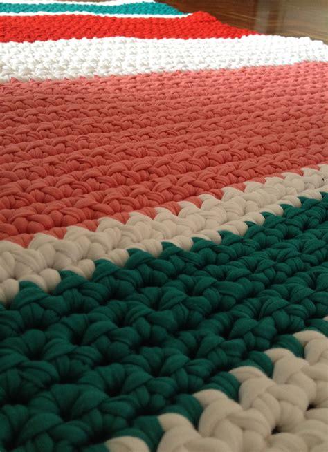 alfombra de trapillo rectangular hecha  mano lamila lamila alfombra de trapillo