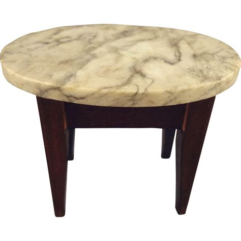 doll house table marble top doll house table from jackieeverett on ruby lane