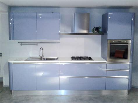 cucina azzurra offerta scavolini tess azzurra 3991 cucine a prezzi scontati