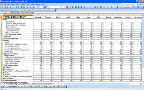 church budget spreadsheet template church budget template excel free haisume