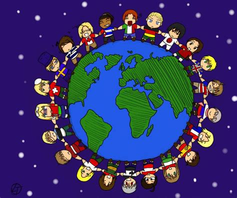 Our World our world of diversity by lasttakashima on deviantart
