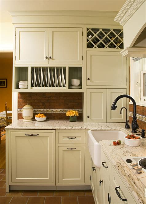 rack kitchen cabinet kitchen cabinet plate rack traditional with tile