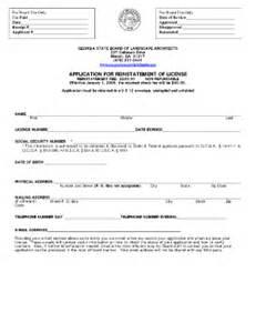Landscape Architecture Registration How To Reinstate Landscape Architecture License In