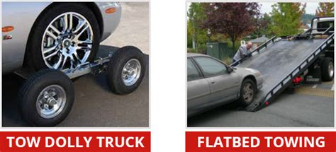 Vs Set Jump Dolly when to tow with a flatbed or dolly